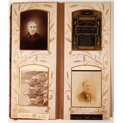 1880's Western Family Photo Album  (81513)