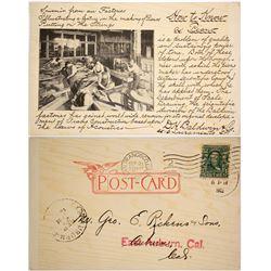 Baldwin Piano Advertising Card  (88227)