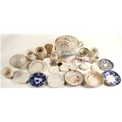 Common Pottery & Table Ware Items / 39 items  (78843)