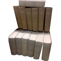 Harper's Magazine, 13 Bound Volumes  (59827)