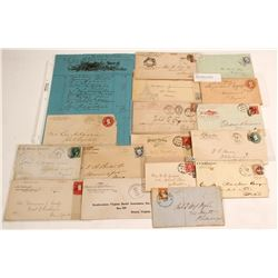 Lettersheet, Pictorial and Corner Advertising Postal History  (60962)