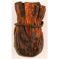 Old Rawhide or Leather Pouch  (76526)