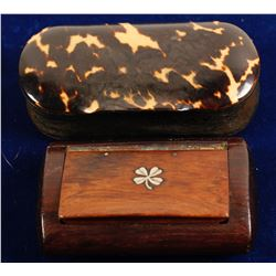 Two Snuff Boxes  (88213)