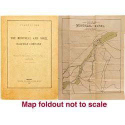 Prospectus of The Montreal and Sorel Railway Company  (52806)
