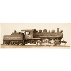 American Locomotive Co. Locomotive and Tender Photo  (61807)