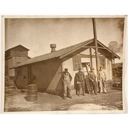 D & R Railroad Shop Photo, Almoso, CO  (8315)