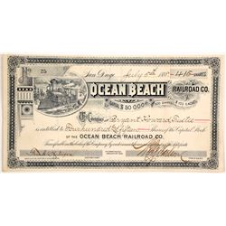 Ocean Beach Rail Road  Co  (83749)