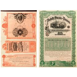 Duluth, Huron and Denver Railroad Company Bond  (52304)