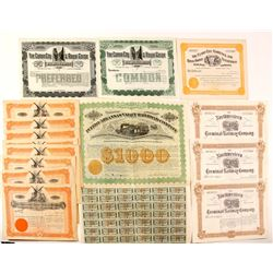 CO Railway stock certificates  (83832)