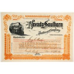 Nevada Southern Railway Co  (83748)