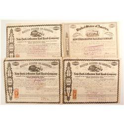 New York & Boston  Rail Road Co bonds  (87075)