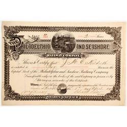 Philadelphia and Seashore Railway Co  (83816)
