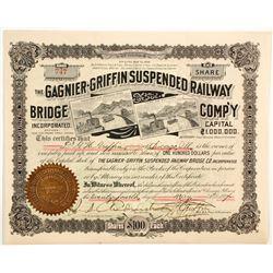 Gagnier-Griffin Suspended Railway Bridge Co  (83747)
