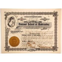 National School of Railroading  (87012)