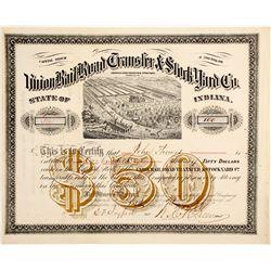 Union Rail Road Transfer & Stock Yard Co  (83772)