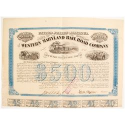 The Western Maryland RR Co Bond  (86957)
