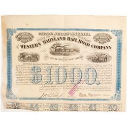 The Western Maryland RR Co Bond  (86958)
