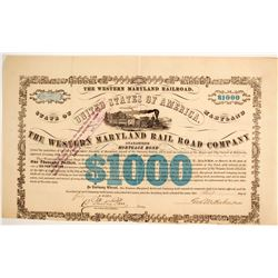 The Western Maryland RR Co Bond  (86960)