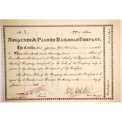 Negaunee & Palmer Railroad Co  (87006)