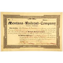 Montana Railroad Co  (83779)