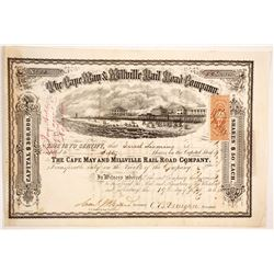 Cape May and Millville Railroad Co  (83758)