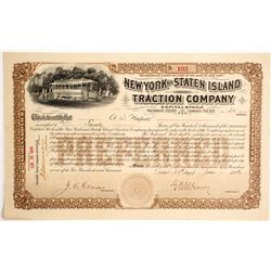 New York and Staten Island Traction Co  (87053)