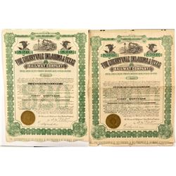 Cherryvale Oklahoma & Texas Railway Co. Bonds  (52340)