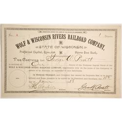 Wolf & Wisconsin Rivers Railroad Co  (86972)