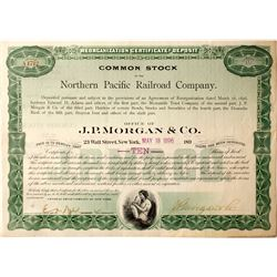 Northern Pacific Railroad Company Stock  (83221)