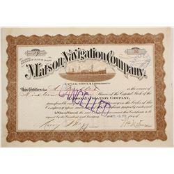 Matson Navigation Company  (87209)