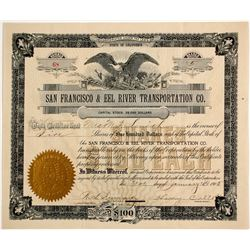 San Francisco & Eel River Transportation Co.  (86568)