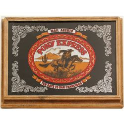 Framed New Pony Express Mirror  (61226)