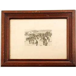 San Francisco, CA Post Office Framed Print  (76523)