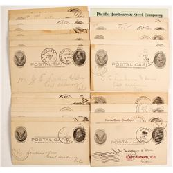 Mother Lode Town Cancel Collection  (88226)