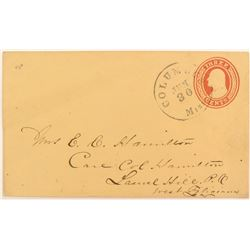 Postal Cover 1853 to 1855  (51627)
