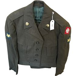 Korean War Era U.S. Army Armor Uniform  (75963)