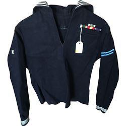 Vietnam-era U.S. Navy Dress Blue Jumper  (75971)