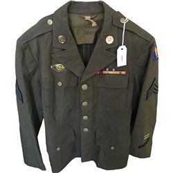 WWII U.S. Army Aviation Uniform Dress Tunic  (75955)