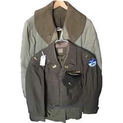 WWII U.S. Army Engineer Officer Uniform Grouping  (75973)