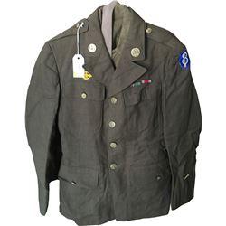 WWII U.S. Army Infantry Uniform  (75975)