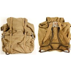 WWII U.S. Army Mountain Troops Backpack  (75978)