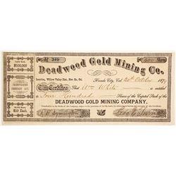 Deadwood Gold Mining Company Stock  (88078)