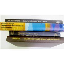 Geology Books (4)  (89307)