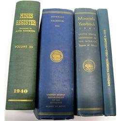 Mine and Mineral Handbooks (4)  (62121)