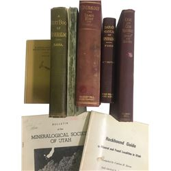 Mineral and Mineralogy Books (8)  (86665)