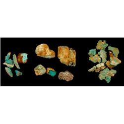 Pilot Mountain Turquoise Specimens  (61506)