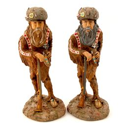 Two Buffalo Hunters - Numbers 17 and 18  (57859)