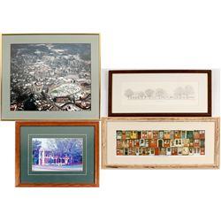 4 Different Dohlonega Framed Prints  (56133)