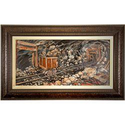 Mine Shaft Painting by Gardner  (87446)