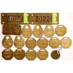 Mining Equipment Tags  (87310)